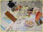 Challenge Carnet de Voyage