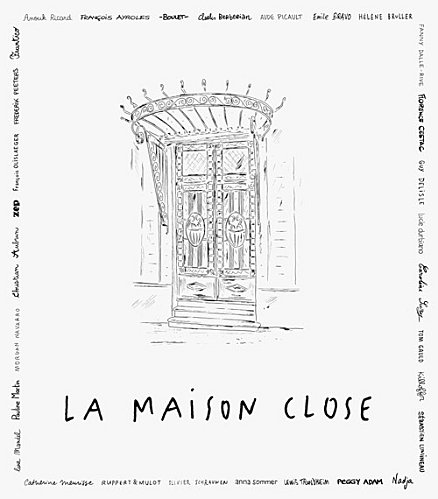 La maison close collectif d auteurs bar bd for A la maison close