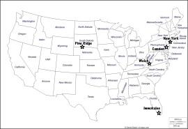 carte des US