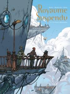 Le royaume suspendu, tome 1 : Le Nexus élémentaire – Hepken – Ribaltchenko © Akiléos – 2013