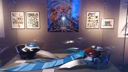 Epée de Razzia et armes de Ténébris - Expo Les Légendaires - 2014
