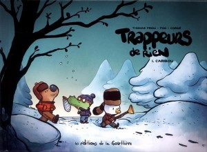 Trappeur de rien - Pog - Priou © Editions de la Gouttière - 2016