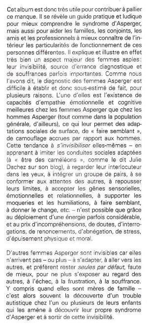 Extrait de la Préface de Carole Tardif (psychologue) et de Bruno Gepner (pédopsychiatre et psychiatre)