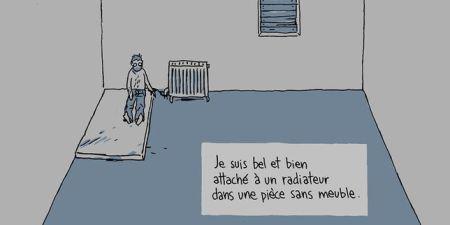 S'enfuir, récit d'un otage – Delisle © Dargaud – 2016