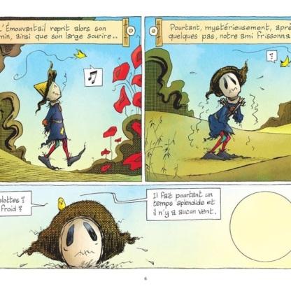 L'Emouvantail, tome 2 - Dillies © Editions de La Gouttière - 2019