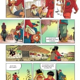 Philippine Lomar, tome 3 - Zay - Blondin © Editions de la Gouttière - 2018