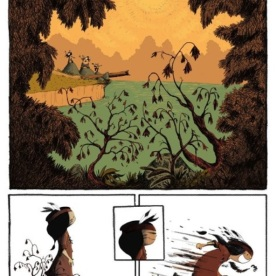 Anuki, tome 9 - Maupomé - Sénégas © Editions de La Gouttière - 2019
