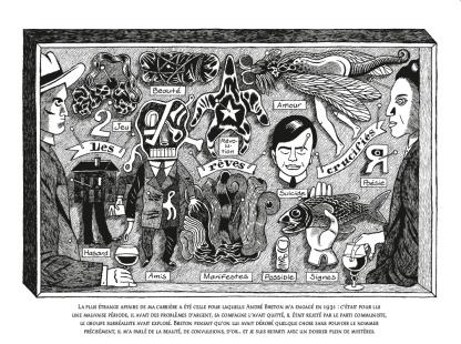 Nick Carter et André Breton – Une enquête surréaliste - David B. © Soleil Productions - 2019